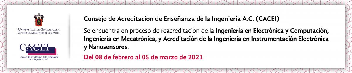 Reacreditación CACEI 2021