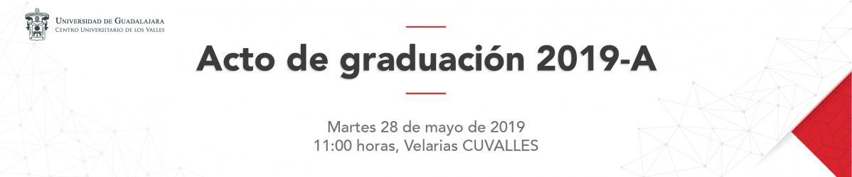 Acto de Graduación 2019-A