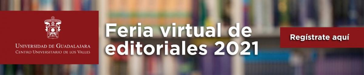 Feria virtual de editoriales 2021 - del 12 al 17 de julio