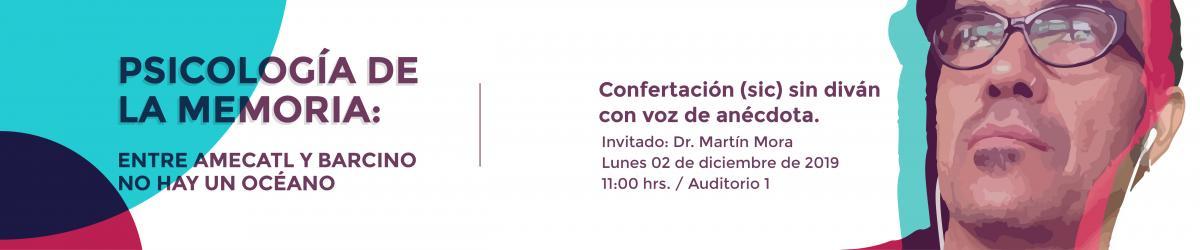 Confertación: Doctor Martín Mora