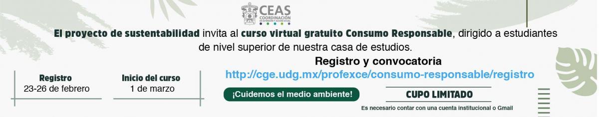 Curso virtual gratuito Consumo Responsable - CEAS-