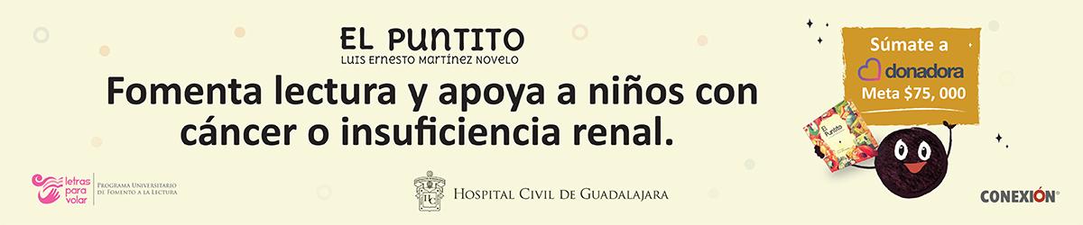 Hospital Civil de Guadalajara - El puntito súmate a donar -