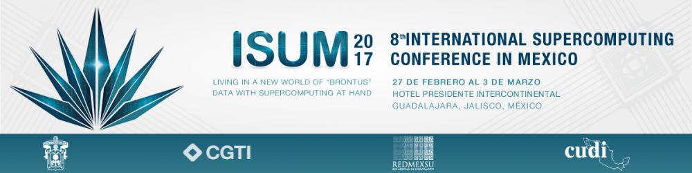 ISUM 2017 Congreso de Supercómputo