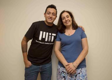 Jesús Adrián Arroyo Ceja ganador del Bootcamp, organizado por el Instituto Tecnológico de Massachusetts